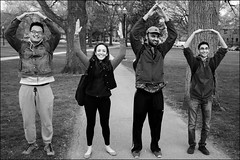 O H I O (Stephen A. Wolfe) Tags: columbus ohio blackandwhite strangers streetphotography theohiostateuniversity niksilverefexpro2 fujix100t adobelightroom57