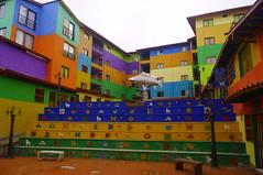 Guatapé, Colombia (ARNAUD_Z_VOYAGE) Tags: cloud color colour colors beautiful clouds america river landscape town site amazing colombia colours view south centro central american huge region department active centrale municipality guatapé
