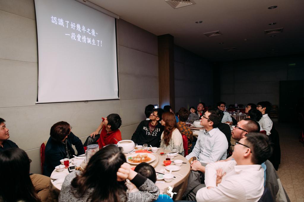 《婚攝》家賢 & 怡妏 / 羣芳蔬食婚宴會館