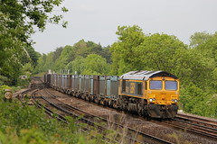 Photo of GBRf 66742 on 4Y19 at Shawford 27/5/15