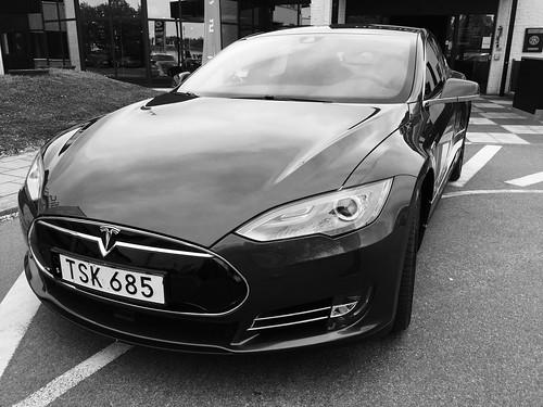 Tesla testdrive