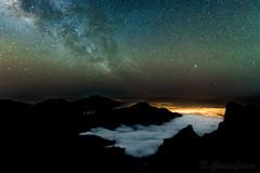 The Caldera (niclas-2020) Tags: longexposure night stars islands nightsky canary lapalma canaries canaryislands milkyway thegreatcanaries