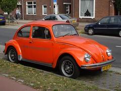 1982 Volkswagen 1200 (harry_nl) Tags: netherlands nijmegen volkswagen beetle nederland 1200 kfer kever 2014 sidecode4 hr85df