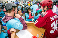 2015-06-03 NHLer chats with kids