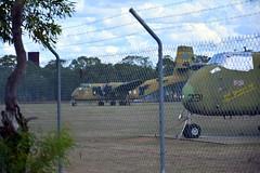DSC_0926 (LoxPix2) Tags: clouds vintage landscape airport aircraft australia queensland nomad caribou oakey loxpix australianarmyflyingmuseum
