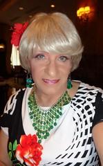 Brazen And Unabashed! (Laurette Victoria) Tags: woman necklace milwaukee blonde pfisterhotel laurette