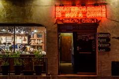 Skateboard Subversive (TigerPal) Tags: street window shop night dark darkness korea korean seoul afterdark sungshinwomensuniversity