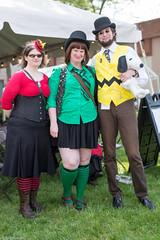 Steampunk Peanuts Gang (edwick) Tags: peanuts steampunk steampunkworldsfair 2016steampunkworldsfair
