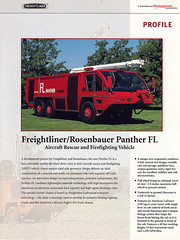 Freightliner Rosenbauer Panther FL (adelaidefire) Tags: rescue aircraft 1998 fl firefighting panther freightliner rosenbauer arff