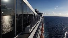 Reflexos magnficos (faneitzke) Tags: ocean sea nature port mar ship natureza porto cruiseship caribbean cruzeiro msc navio caribe caribbeansea engenharia mscdivina