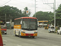 Yellow Bus Line 2108 (Monkey D. Luffy 2) Tags: road city bus public photography photo nikon philippines transport vehicles transportation coolpix vehicle society hino davao rk philippine enthusiasts philbes rk1jst rk1jmt