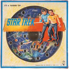 1967 Star Trek Marble Maze box (Tom Simpson) Tags: startrek vintage toys 1967 maze 1960s marble