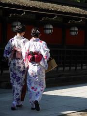 @ (-sou-) Tags: yukata girl kyoto japan kitanotenmangu shrine