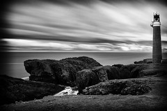World's End (Dr. RawheaD) Tags: longexposure lighthouse canon scotland sony butt lewis a7r tse24