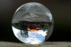 Small World (Elliott Bignell) Tags: italien italy glass fire italian italia crystal cairo sphere quartz feuer glas italie kugel italienisch dego ital montenotte piandellacanepa ciandellacana