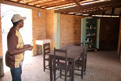 Frei Gilberto no refeitrio da casa central do eremitrio 109 (vandevoern) Tags: brasil piaui eremitrio orao trindade floriano estadia vandevoern landrisales