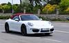 991 (jansolanellas) Tags: red white black leather sport top interior 911 convertible porsche rims cabrio carreras carrera porsche911 cabriolet 991 blackrims 911carreras porsche991