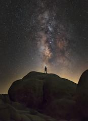 """Cosmic Selfie"" (XLj Photography) Tags: california joshuatree milkyway selfie joshuatreenationalpark"