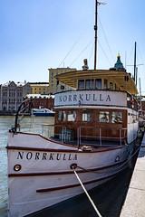 The Bow of NORRKULLA (Jori Samonen) Tags: blue sky finland helsinki ship bow kruununhaka norrkulla