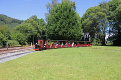Over The Crossover (MylesBeevor) Tags: uk wales train miniature tank 14 cymru engine 7 railway loco steam valley locomotive welsh betwsycoed douglas snowdonia conwy cvrm