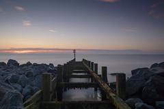 Hopton-on-Sea (John__Hull) Tags: wood sea summer sky nature sunrise nikon rocks long exposure structure filter granite manmade serene groyne defence srb d3200 hoptononsea nd10