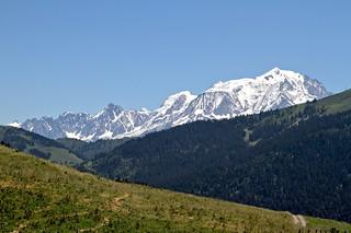 La splendeur du Mont-Blanc