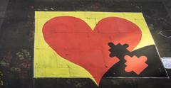 Street Art Festival - Geldern (stefanfricke) Tags: strasenmaler pflastermaler streetart geldern festival sony ilce6000 a6000 germany deutschland schwarz rot gold