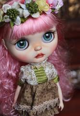 Simonetta OOAK Blythe Doll