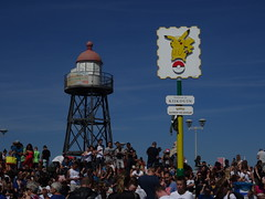 Deltaplein Den Haag (Kijkduin) (Kvnivek) Tags: netherlands zuidholland denhaag kijkduin coast pokmon tower lighthouse pikachu