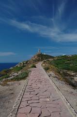 faro (Photoefix) Tags: panorama nuvole prospettiva blu sandalo
