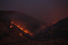 Magaliesburg bush fire (peet-astn) Tags: magaliesburg bush fire southafrica hartbeespoort r511 diepsloot dusk evening night august 2016