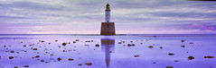 Resilience (rubberducky_me) Tags: scotland uk europe lighthouse water beach reflection blue linhoftechnorama linhof velvia