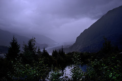 Spooky Glacier (Pete Foley) Tags: alaska glacier rain fujix100 brokennikond800 flickrsbest littlestories picswithsoul overtheexcellence
