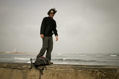 Jonmikel and his crazy hair, Casablanca (Jonmikel & Kat-YSNP) Tags: casablanca morocco march 2007
