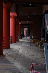Liverpool Albert Docks (karllaundon) Tags: liverpool photography walkway pillars albertdock daytrip