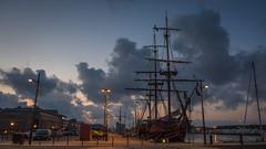 Morning in Saint-Malo Harbour (Oleg.A) Tags: morning france harbor brittany harbour bretagne saintmalo stmalo