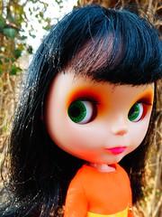 Let's get outta here (Liz/Daifuku_Darling) Tags: blythe goldie allgoldinone blythedoll bl vintageskipper ravenhair liccabody