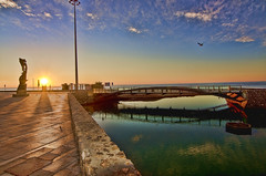 Calafell Colores.- (ancama_99(toni)) Tags: bridge sunset sea sun color colour sol colors rio river puente atardecer dawn mar nikon mediterranean mediterraneo calafell catalonia amanecer catalunya puestadesol 1000views mediterrània 10favs 50faves 10faves 50favs 25favs 25faves ltytr1 1116mm d7000