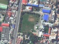 Το Νεπάλ πριν και μετά το σεισμό - Δορυφόρος
