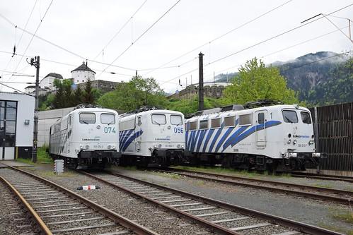 151 074-2 + 151 056-9 + 139 310-7 Lokomotion Kufstein 03.05.15