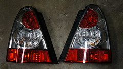 2007 Forester Tail Lights (samolson3d) Tags: light lights tail 2006 right subaru driver passenger left 06 2008 07 08 2007 forester