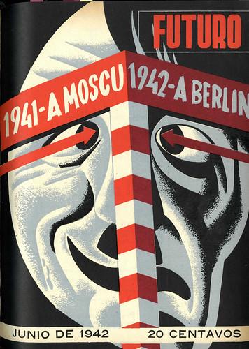 Portada de Josep Renau Berenguer para la Revista Futuro (junio de 1942)