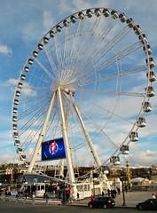 La grande roue place de la Concorde. (Claudia Sc.) Tags: paris france concorde granderoue