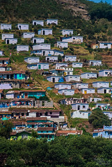 Apartments - Old vs New (V.T.Arun ram kumar) Tags: new old houses summer india white green high asia view apartment outdoor tamil ooty nadu