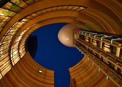 Circular Building (Giovanni88Ant) Tags: night osaka namba nambaparks