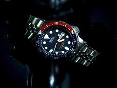 Seiko SKX009 (Fana ) Tags: blue red water japan drops marine time steel jubilee watch dial automatic diver pepsi horloge seiko plonge 200m sous montre fana bezel automatique 7s26 skx009 tanche plongeuse fanawatches watchelse