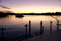 sunset over water (*SIN CITY*) Tags: sunset sky cloud art water relax view artistic dream peaceful australia calm goldcoast