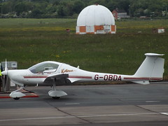 G-OBDA Diamond Katana 20 (Aircaft @ Gloucestershire Airport By James) Tags: james airport gloucestershire diamond 20 katana lloyds egbj gobda