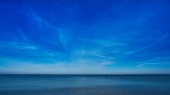 Blue Dreams (Froschknig Photos) Tags: blue sky water clouds wasser himmel wolken baltic dreams sail regatta blau ostsee segelboot 6000 segel khlungsborn 2016 bluedreams a6000 a6k vclecu1 sel16f28 sonyalpha6000 ilce6000