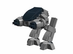 Grantmasters LEGO ED-209 variation (SPARKART!) Tags: toy lego ed209 grantmasters sparkart